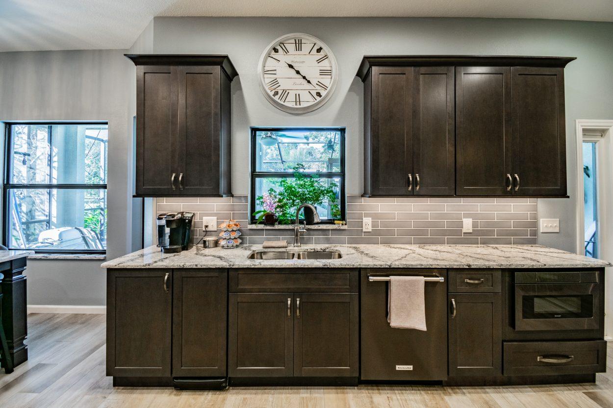 Kitchen Remodeling Tampa Upper Cabinets Vs Open Shelving
